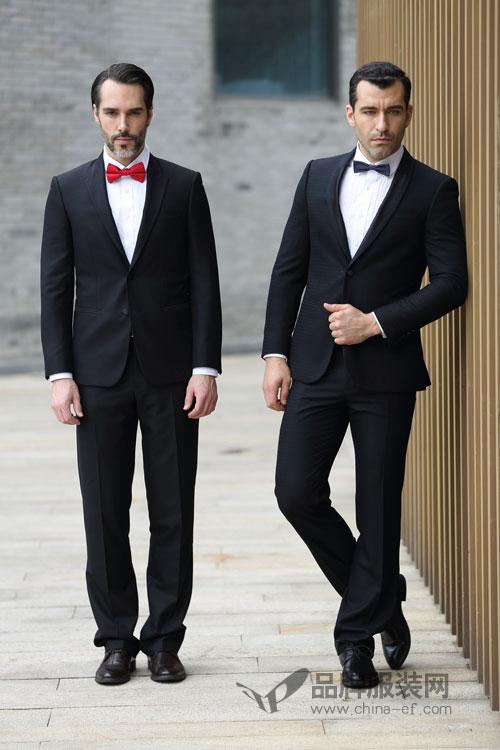 富绅西装系列 助你打造潇洒帅气的气场和体态