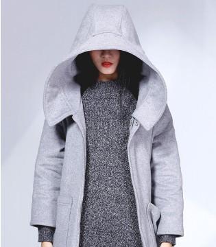 布卡拉 大衣长度把握好 高瘦要诀简单get