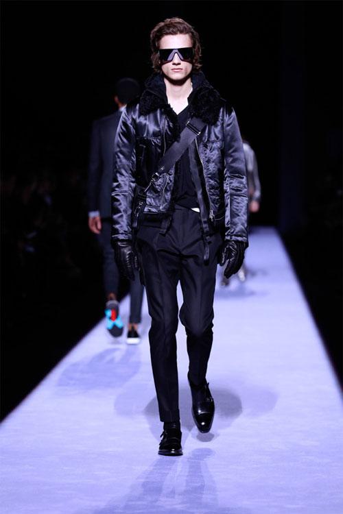 美国著名设计师品牌Tom Ford 2018秋冬系列男装秀