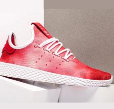 """这双Pharrell x adidas Tennis Hu让你 """"爆红"""""""