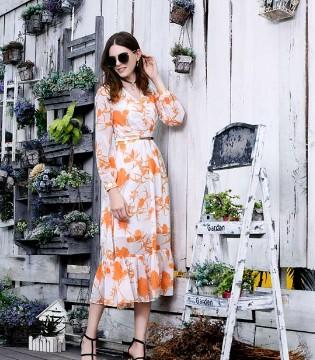 例格春季女装 橙色为什么这么招人爱 该怎么搭配才能美呢?