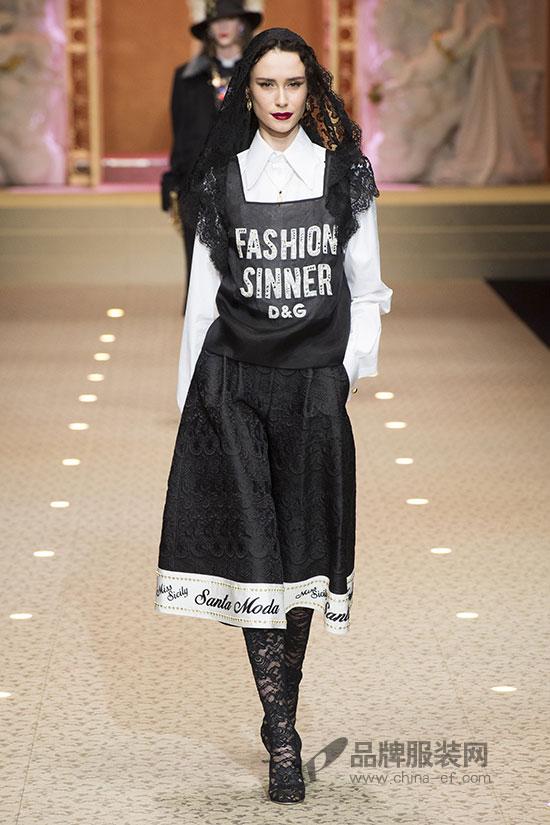 备受关注的Dolce&Gabbana 2018秋冬女装系列时装秀