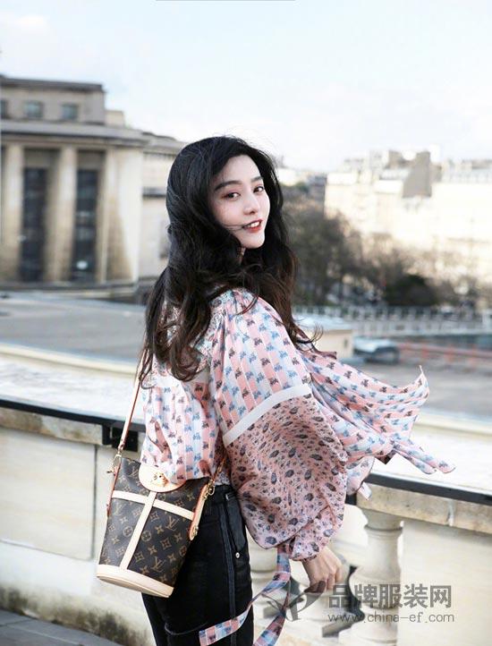 范冰冰最新巴黎时尚街拍美照 尽显女神范十足超美der