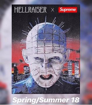Supreme x Hellraiser 2018合作款式就已曝光了