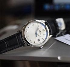 细手腕男士的福音来了 积家推出小表盘腕表