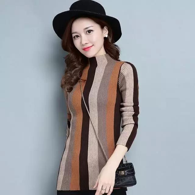 春美多气质的羊绒衫添加女性自信时髦优雅又动人