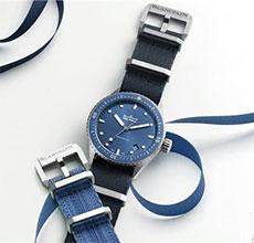 时尚之典范 宝珀Blancpain五十�x腕表