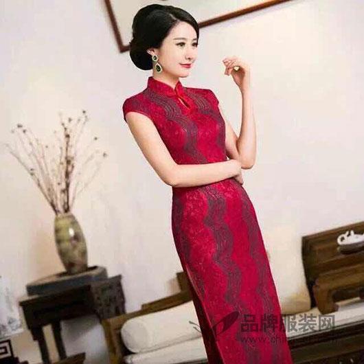 东方贵族精致优雅旗袍装 行走百年的中国风