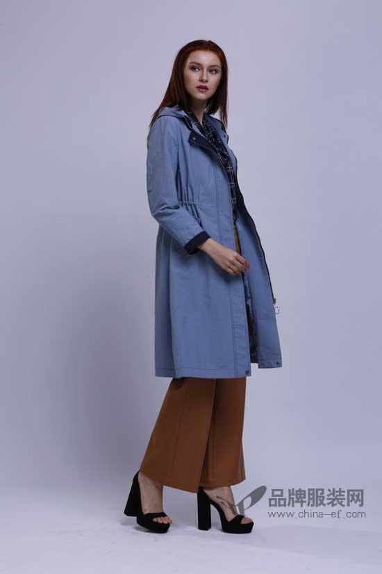 宝薇时尚精致的风衣外套 这个季节扮靓的最佳利器