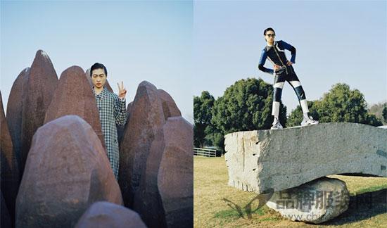 中国超模汪曲攸登《NYLON》封面 趣味性与年代感并存