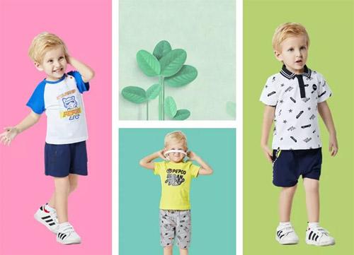 小猪班纳2018潮牌夏装 让时尚把童年的美好绽放