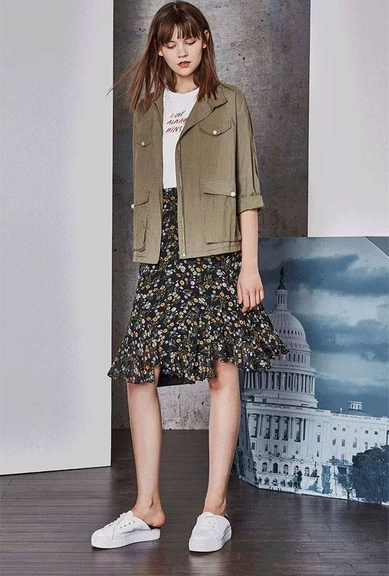 这个春日衣橱尤西子服饰刮起了一波复古风潮