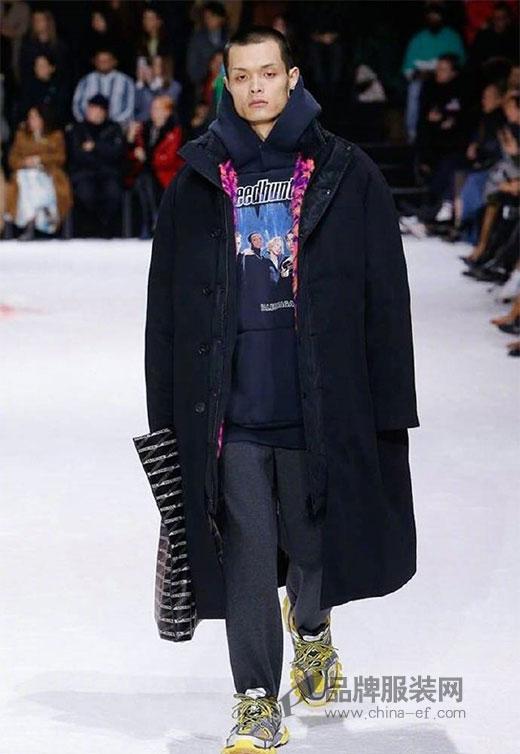 巴黎世家2018秋冬大秀 精彩演绎时尚叠穿法则