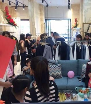 换季换新衣 祝贺HEFANXI佛山市乐从店盛大开业
