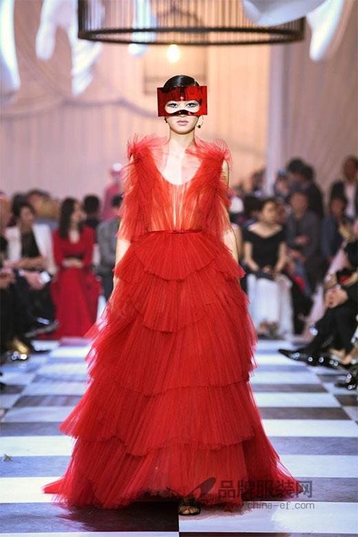 Christian Dior spring 2018上海高订发布会现场