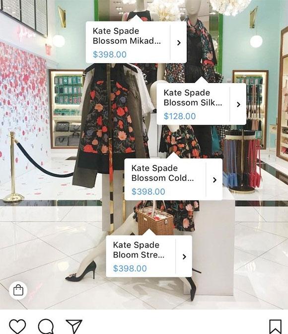 Instagram扩大海外购物功能 新增8个在线购物国家