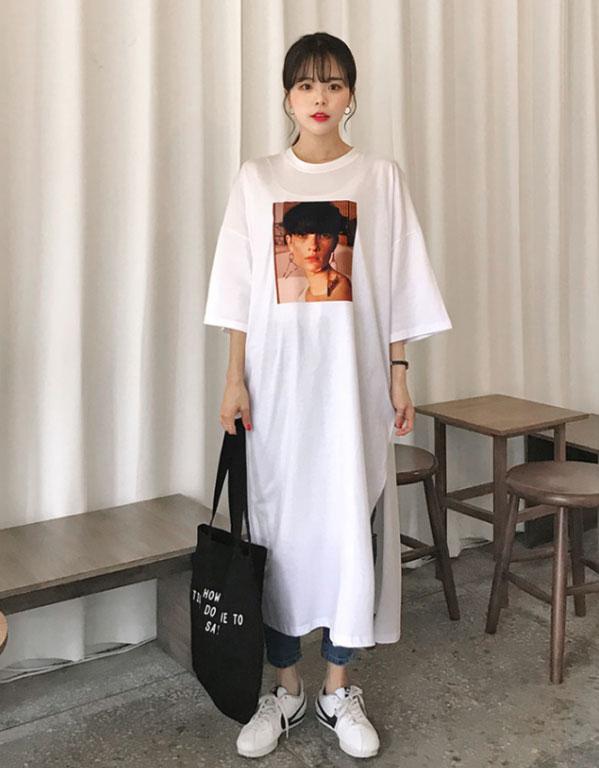 聚多品T恤裙如何搭配 可别把时尚单品穿出乡土气息