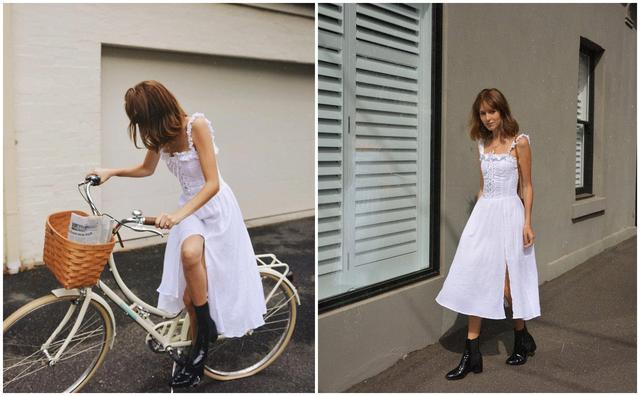 聚多品对春天最起码的尊重就是pick 一件美美的连衣裙