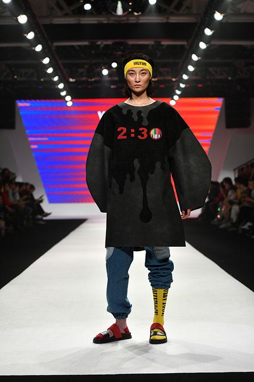 2018上海时装周 莱佛士设计学院时装秀惊艳亮相