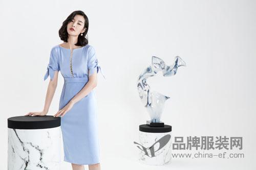 中国服装设计的崛起――ECA女装东方女性典雅之美