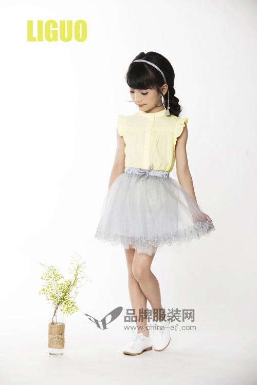 你没见过的女童装精品 力果童装各种风格不重叠