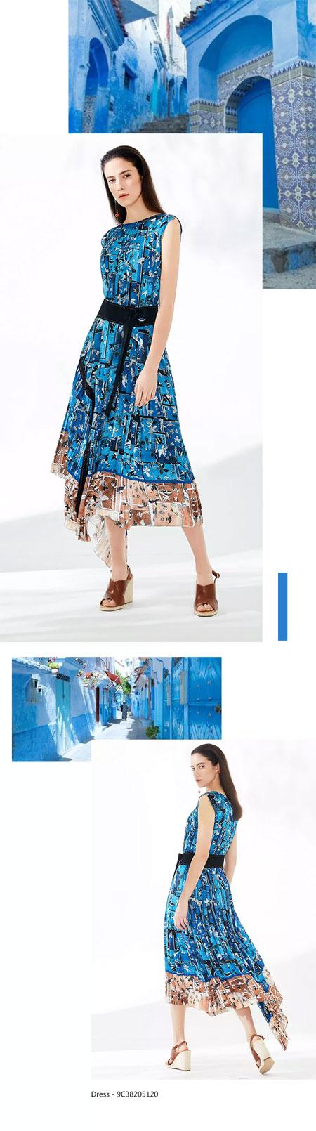 """这个春天穿上恩裳品牌女装来一场出""""色""""的旅行"""