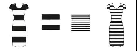云衣为你解答横条纹和竖条纹哪个更显瘦?