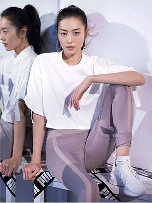 刘雯升级成为Puma全球品牌代言人 实力为大表姐打call