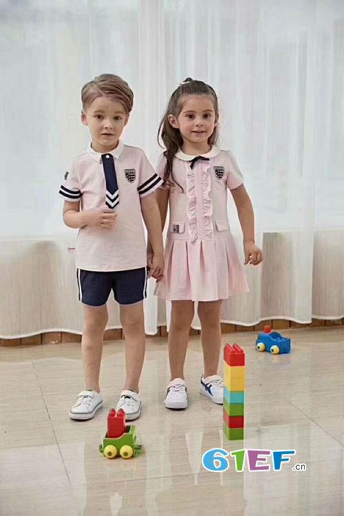 小猪班纳私人定制校服 独特的校服给予最独特的萌娃