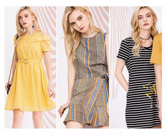 把夏季的美貌与风情都绽放在这条连衣裙里