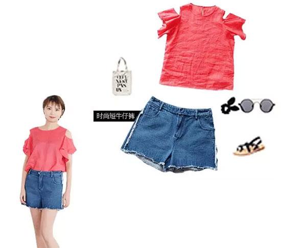 吉米赛欧品牌女夏季新品 看一眼妳的夏天