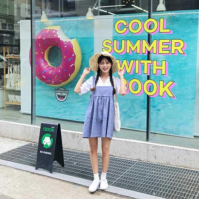 聚多品小个子女生夏季穿衣技巧 多种搭配穿出大长腿