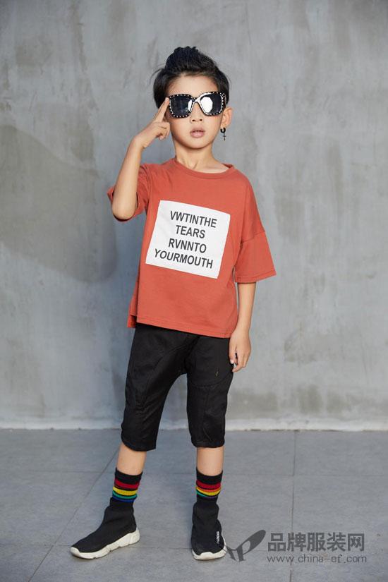 男神驾到 叽叽哇哇潮流童装让孩子瞬间变身为小男神