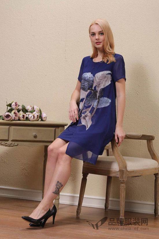 """""""埃芙衣 ify""""精心挑选的印花连衣裙 以最美的姿态开启度假季"""
