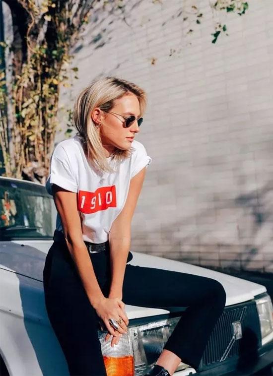 一件T恤的27种穿法 让你美爆整个夏 !!