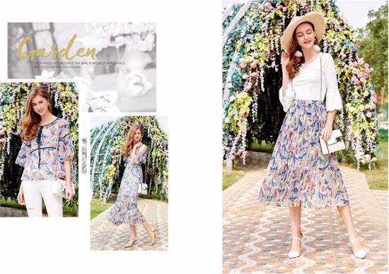 十八淑女坊shunvfang2018夏季新品浪漫释放
