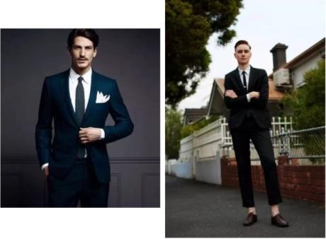 华名人男士时尚休闲西装也需要定制