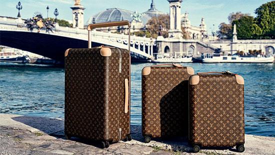 Louis Vuitton推出智能行李追踪器 旅游不再怕丢失行李箱