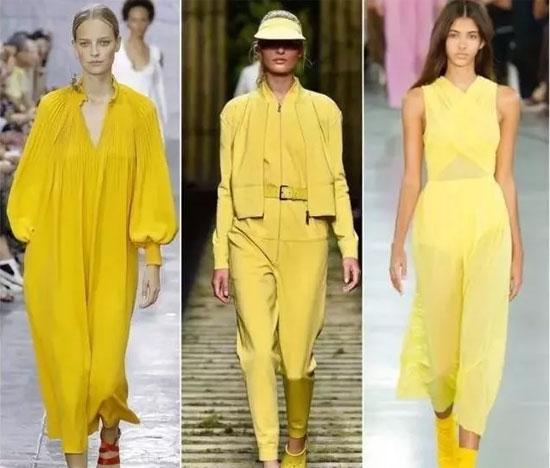 VISVIOCO唯弋品牌时尚女装夏日里的一抹黄