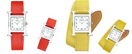 爱马仕Heure的时间秘密 十分成熟的腕表系列