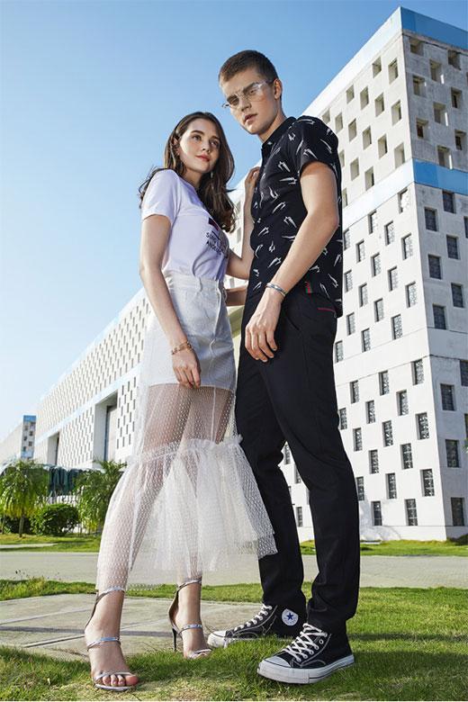 穿什么衣服拍照才好看 莎斯莱思2018春季新品get起来