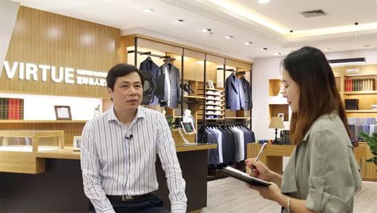 富绅集团副总裁邓文远先生接受惠州日报采访