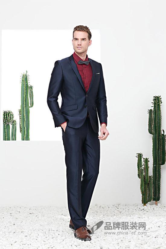 """""""富绅VIRTUE""""充满魅力的西装搭配 瞬间成为女生心中的男神"""