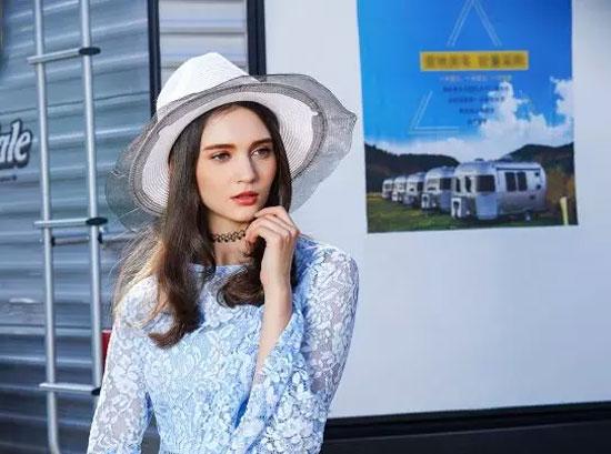 Saslax莎斯莱思2018女装夏季形象广告大片