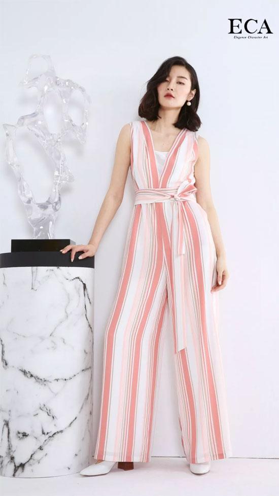 ECA优雅艺术 轻奢女装、经典条纹 时髦的灵魂!