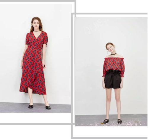 QiJie齐袺女装夏上新 繁花似锦 美到让灵魂傲娇