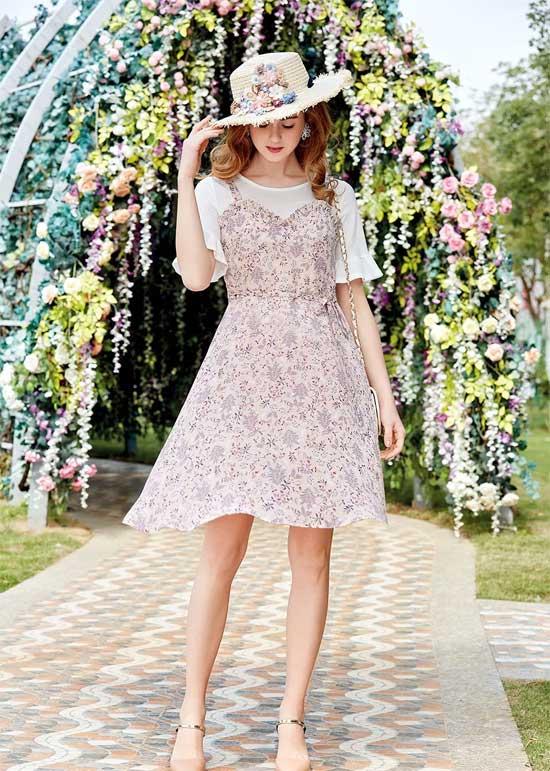 初夏新品 | 秘密花园,带你享受一场夏日碎花新风潮!- shunvfang