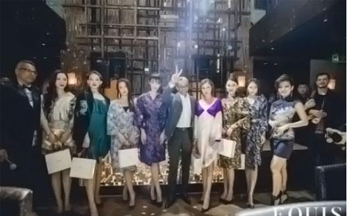 中国风国际化创新浪潮ZIFEI WANG时装秀跨界EQUIS女王夜