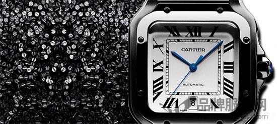 Santos de Cartier卡地亚山度士腕表 致敬当代先锋精神