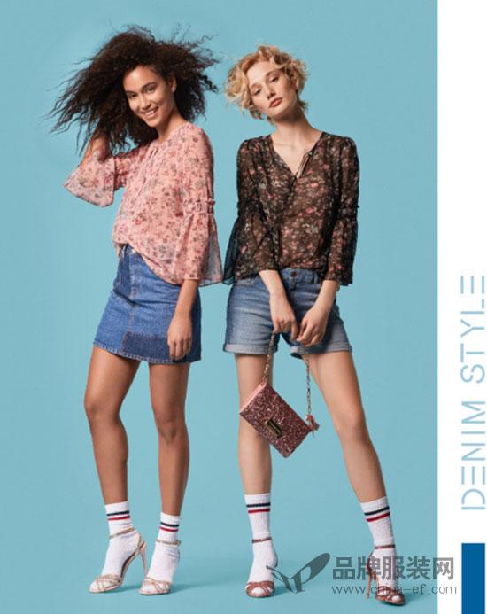 休闲品牌ESPRIT新品lookbook 这才是春天的气息